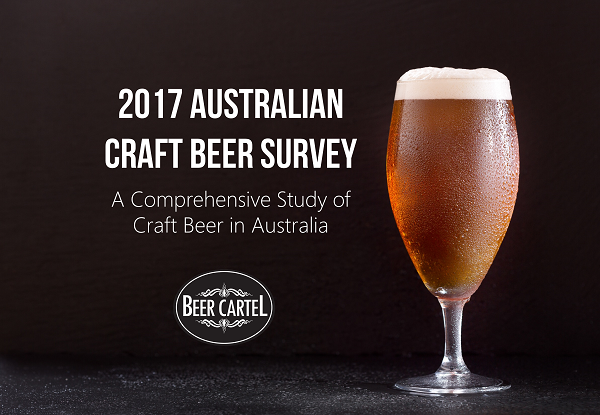 Press release 2017 australian craft beer survey launches for Craft beer market share 2017
