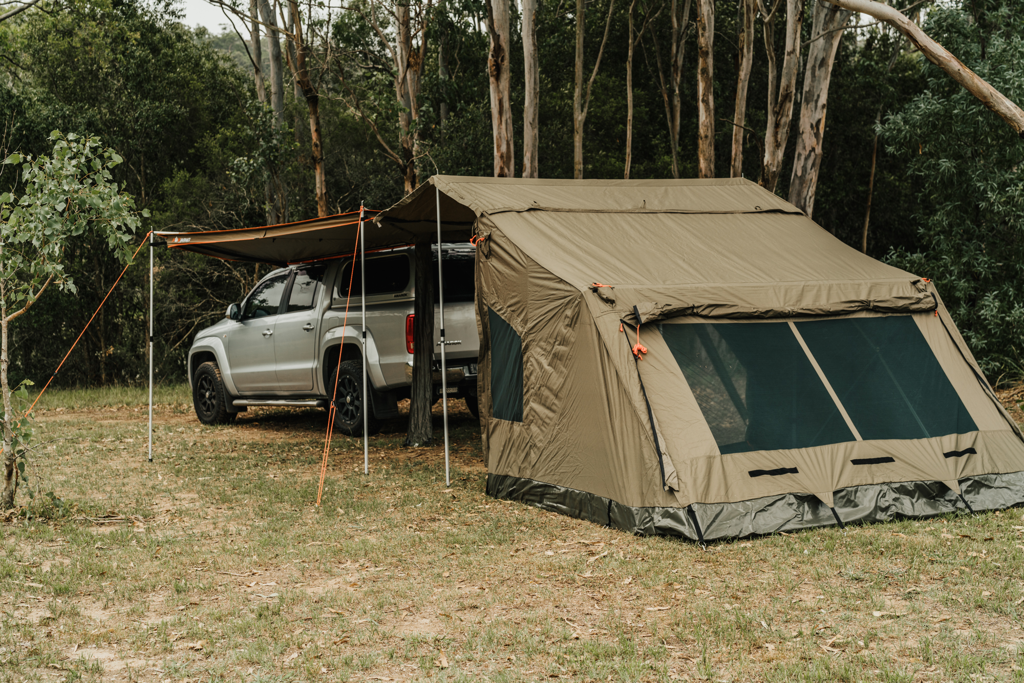 OZTENT | FOXWING - TAGALONG TENT [RRP $699]