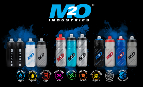 M2O - Pilot Insulated Bottles and IcyTech™